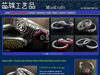 Miaocrafts brochure site